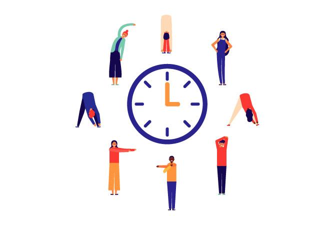 Trabajar desde casa, la importancia de las pausas activas